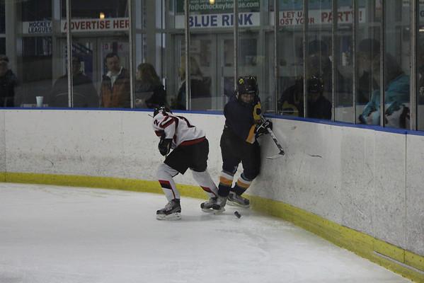 PeeWeeA1 hockey vs New Haven 3-10-12