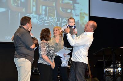 Baby Dedication at Life Christian Center