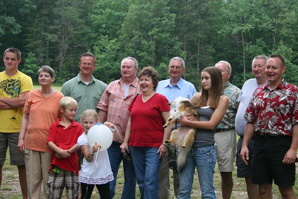 Thornburg Family Renuion 2010