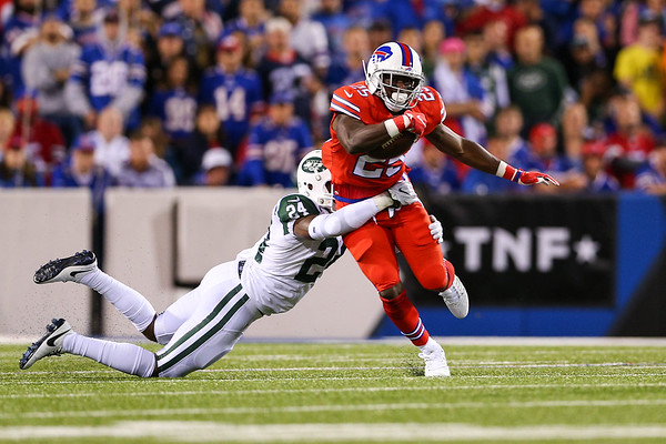 New York Jets vs. Buffalo Bills 9-15-16