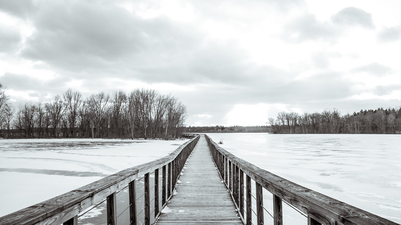 Winter at Hoover Mudflats // 1