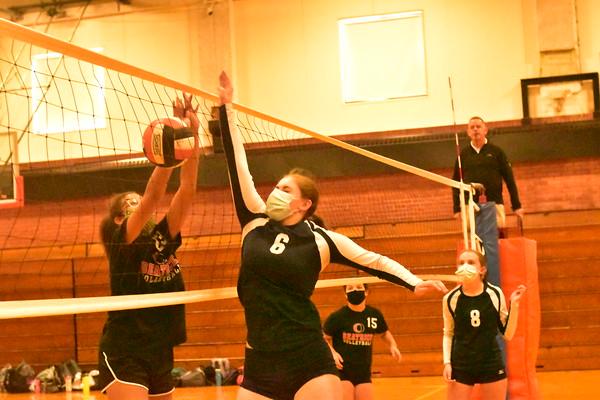 8th grade volleyball vs. Beatrice