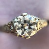 .84ctw Transitional Cut Diamond Filigree Solitaire 5