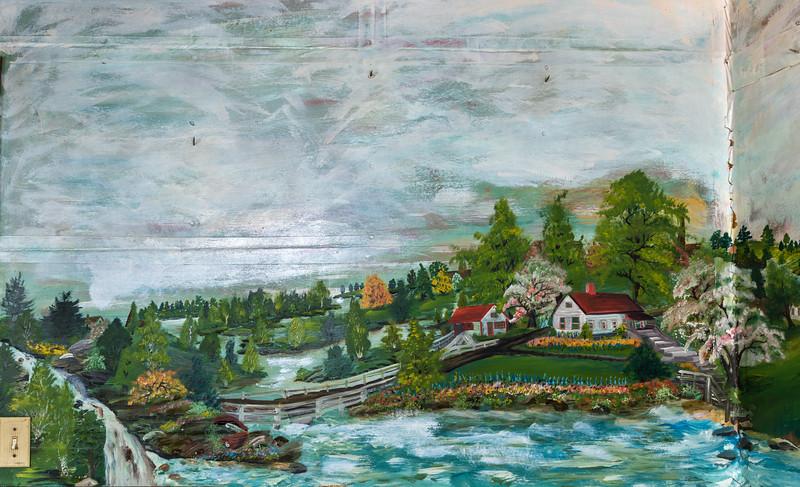 Chemung Valley, NY.  1943-1950.