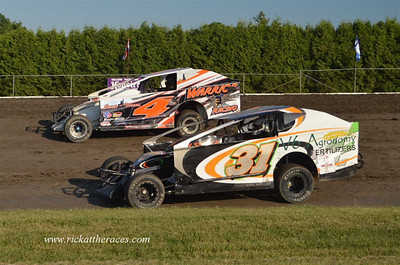 Cornwall Motor Speedway - 6/19/16 - Rick Young