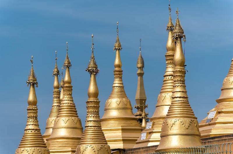 Shwemawdaw Pagoda (Golden God Temple) in Bago, Myanmar (Burma)