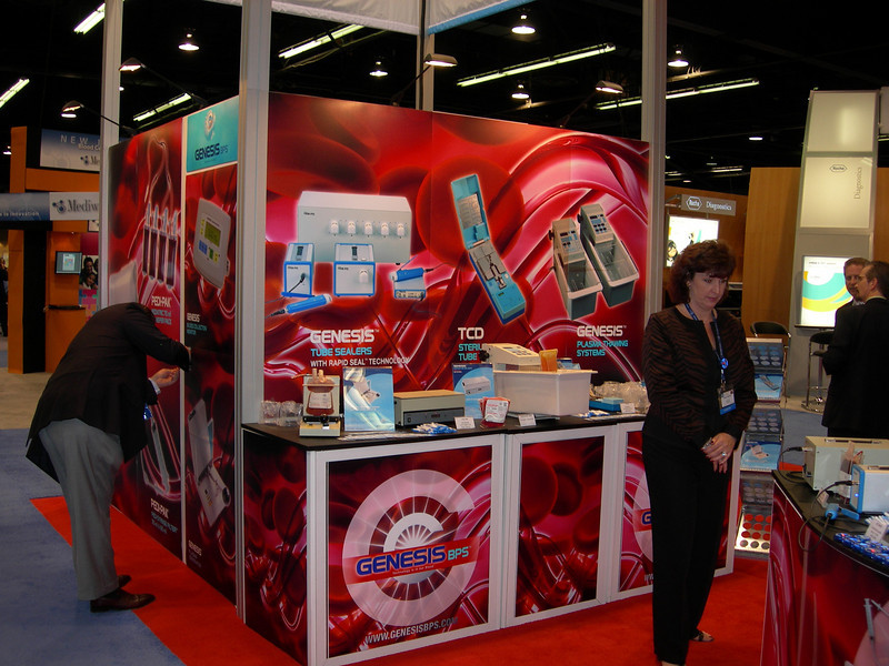 GenesisBPS, Custom Booth