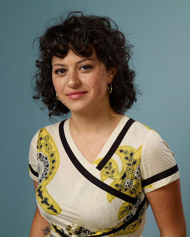 ". Actress Alia Shawkat of ""The Oranges\"" poses during the 2011 Toronto Film Festival at Guess Portrait Studio on September 11, 2011 in Toronto, Canada.  (Photo by Matt Carr/Getty Images)"