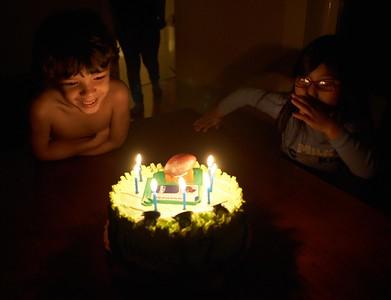 Tristan's seventh birthday