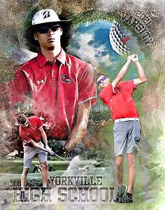 2021 Ty Kukielka Golf Print