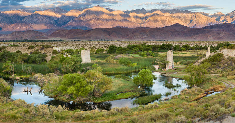 Owens River at The Trestles near Lone Pine