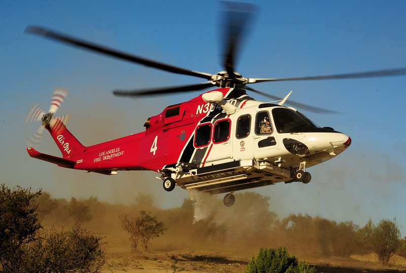 Skip Robinson, AW139, Los Angeles City Fire Department