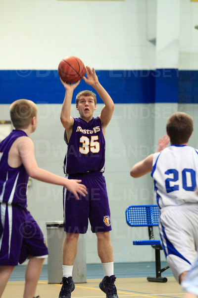 Freshman B - Rolling Meadows vs Wheeling - 02-11-12