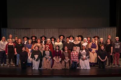 "High School Theatre - 4/30/2019 ""The Crucible"" Dress Rehearsal"