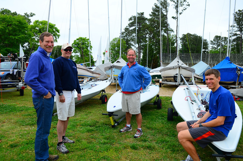 Roger link, Mike Hecky, John MacCausland, Eric Reitinger