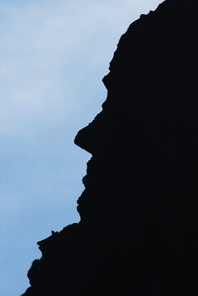 <html>Silhouette -<span class=fre> Parc national de Gros Morne, Terre-Neuve</span> <span class=eng>Gros Morne national park, Newfoundland</span></html>