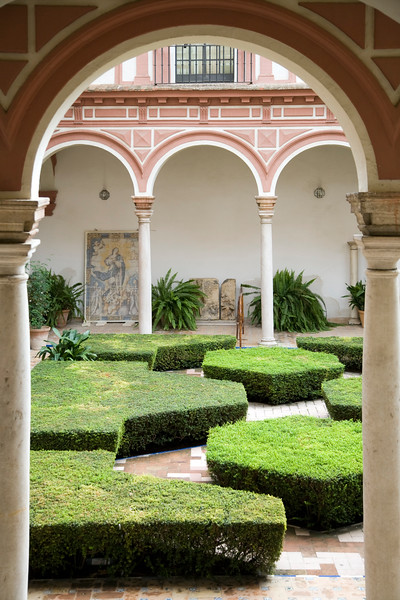 Yard, Fine Arts Museum, Seville, Spain