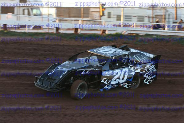 Abilene  Speedway IMCA Ice Breaker 2-24-2012