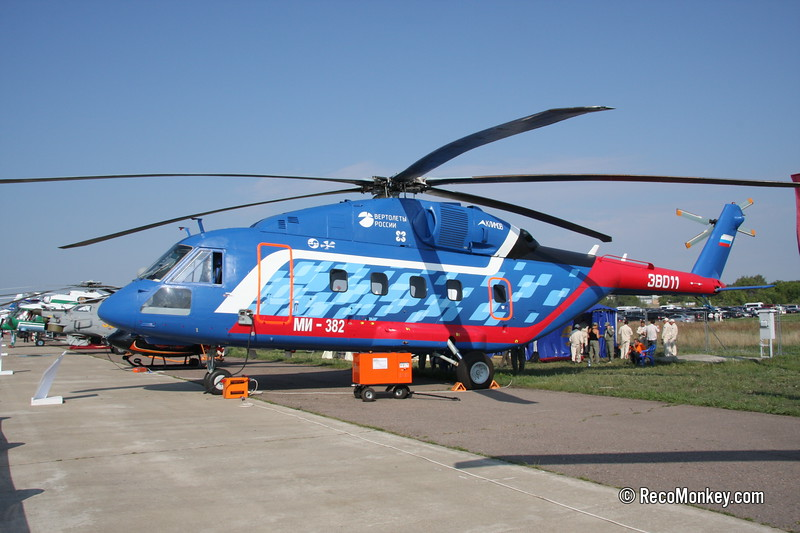 Mi-38-2 Prototype (Civil)
