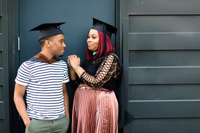 Brian and Brittany Seay Graduates 2018