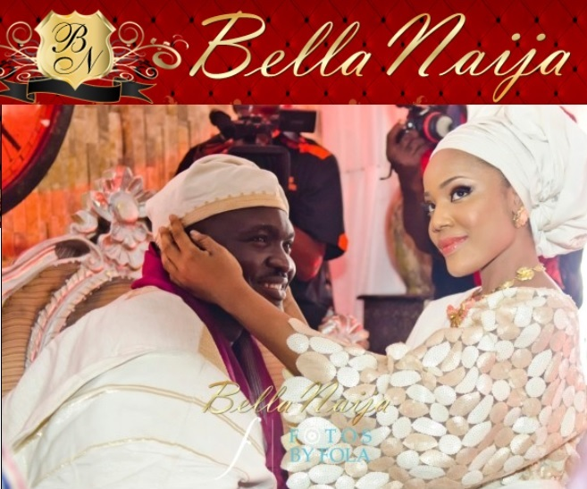 Bisodun and Dipo Wedding on Bella Naija | Fotos by Fola