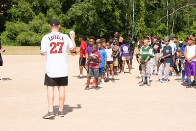 Red Wings Play Ball Initiative at Frederick Douglass Rec Center