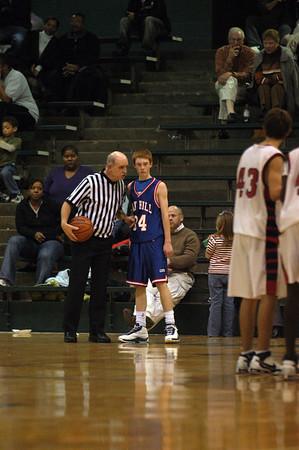 Oak Hill Middle School vs Plaza Park Basketball - City Championship 2007