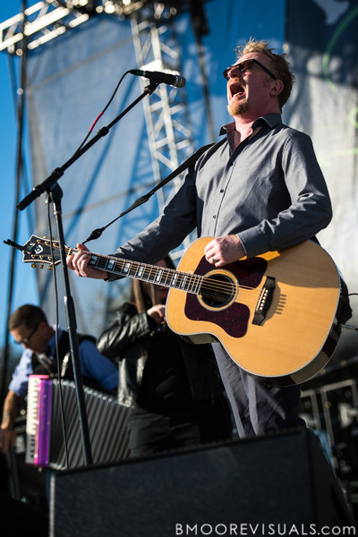 Dave King of Flogging Molly performs on December 1, 2012 during 97X Next Big Thing at Vinoy Park in St. Petersburg, Florida
