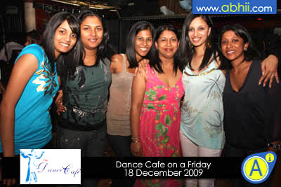 Dance Cafe - 18th December 2009