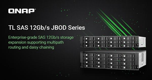 TL SAS 12Gb/s JBOD