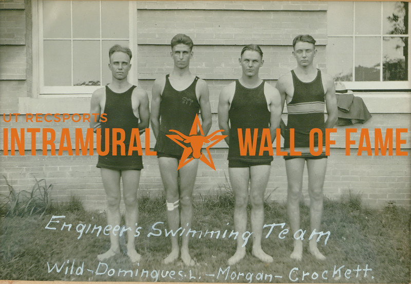 SWIMMING  Engineers  Wild, Domingues L., Morgan, Crockett