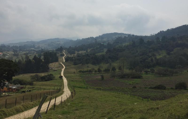 on tthe way to Chingaza