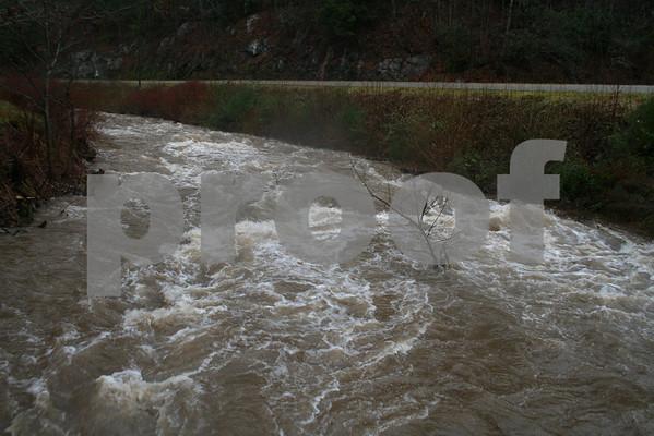 Flooding in Unicoi County - January 2009