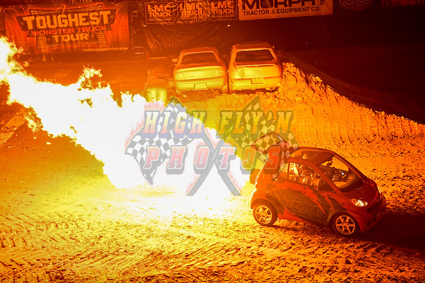 3-17-2017  JET ENGINE SMART CAR SILVERSTIEN EYE CENTER NIGHT 1