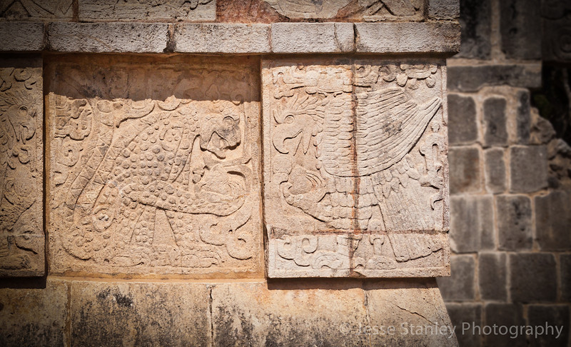 Platform of the Eagles and the Jaguars, Chichen Itza