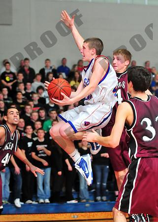 Boys Varsity Basketball - Okemos at Mason - Jan 15