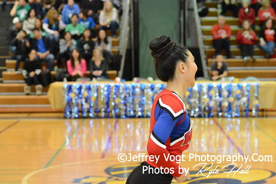 1-30-2016 Wootton HS Varsity Poms at Damascus HS, Photos by Jeffrey Vogt Photography with Kyle Hall