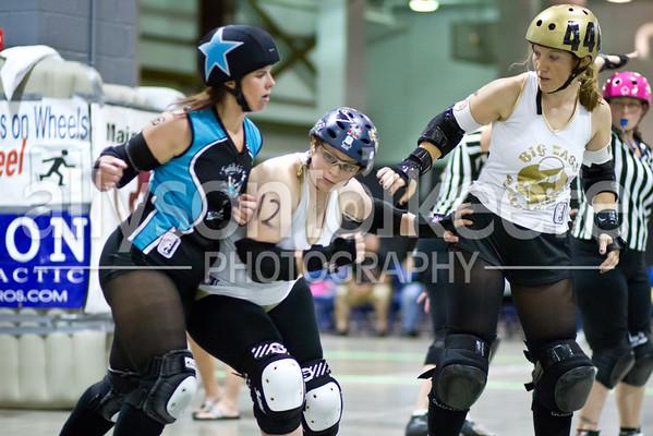 Big Easy Rollergirls vs. Spindletop