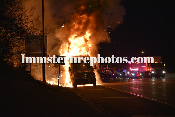 PLAINVIEW TRUCK FIRE