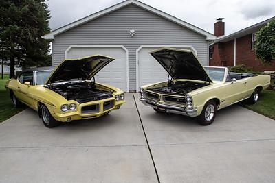 1965,1972 GTO photo shoot