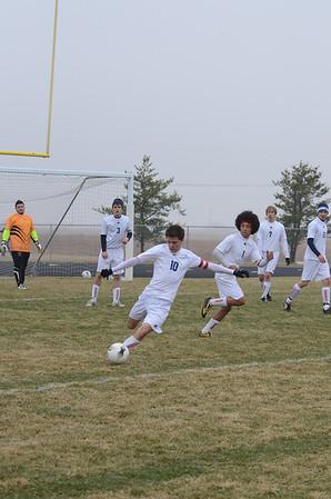 Var Boys Soccer vs Elkhorn, 3-30-11