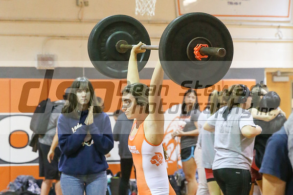1-24-19 Boone Girls Weight Lifting