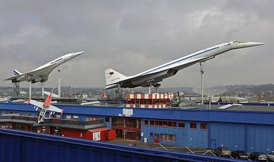 Germany: Concordes at Sinsheim Museum, 2013