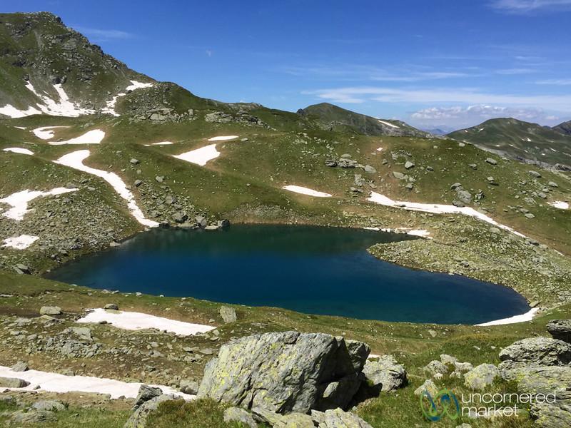 Heart Shaped Lake Near Mt.Gjeravica, Kosovo - Peaks of the Balkans
