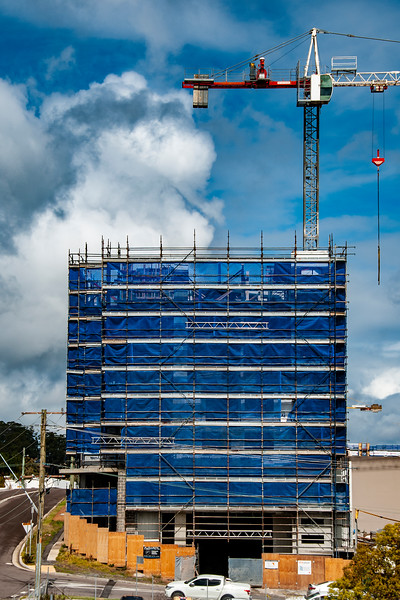 Building progress 132. At 47 Beane St. Gosford. September 2018.