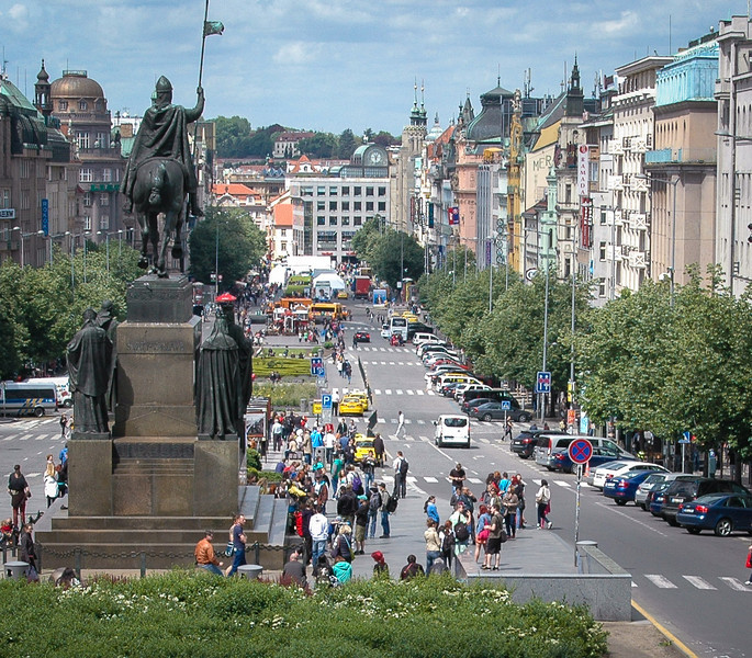 Prague: St. Wenceslas Square