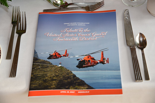 Coast Guard Foundation Dinner  4-19-17