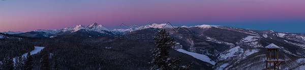 The Northern Sawatch Range, CO at Sunrise