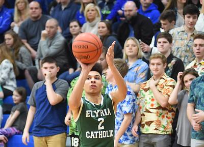 HS Basketball: Elyria Catholic @Bay 02162018