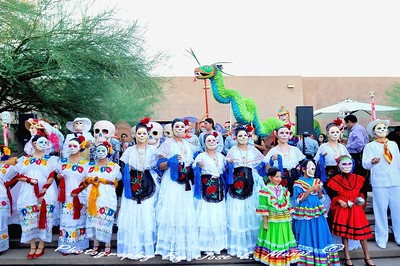 2015-10-31 Dia de los Muertos Celebration at the Garden